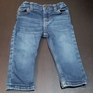 Carters straight stretch jeans